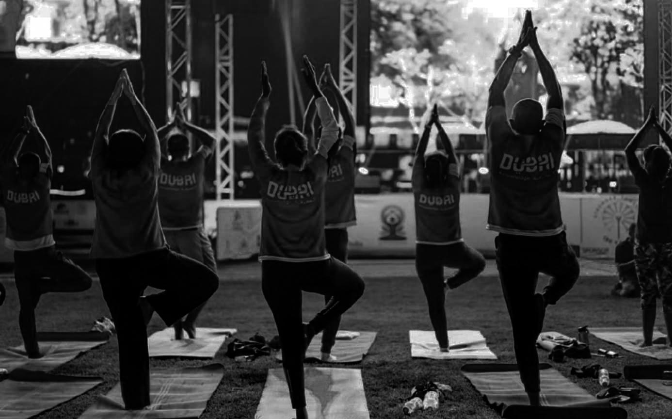 International Yoga Day in UAE