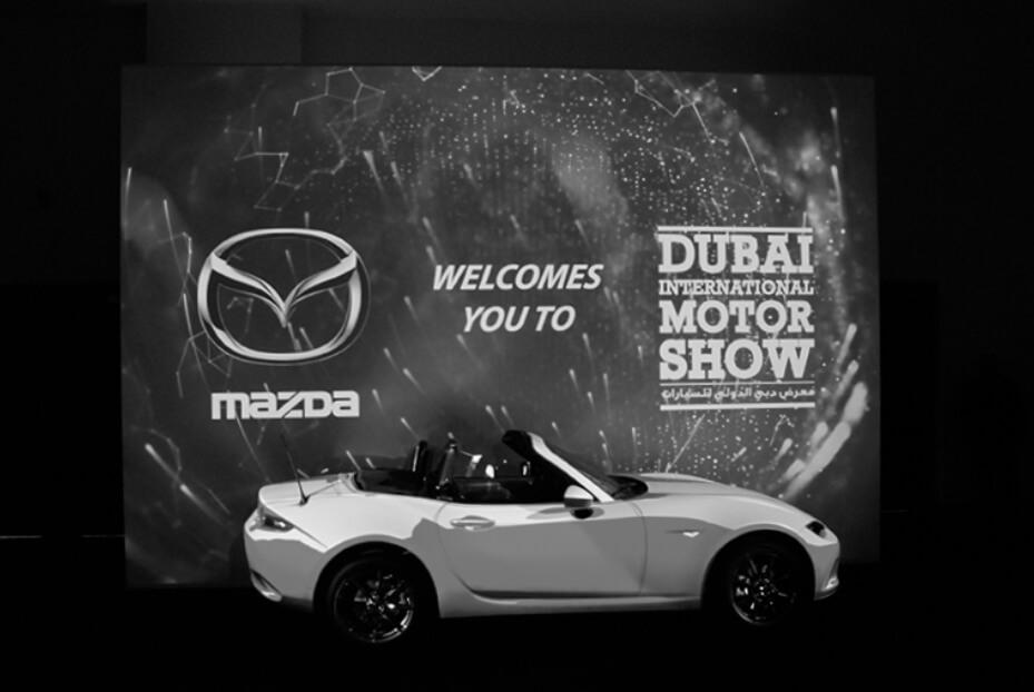 Mazda at Dubai International Motor Show